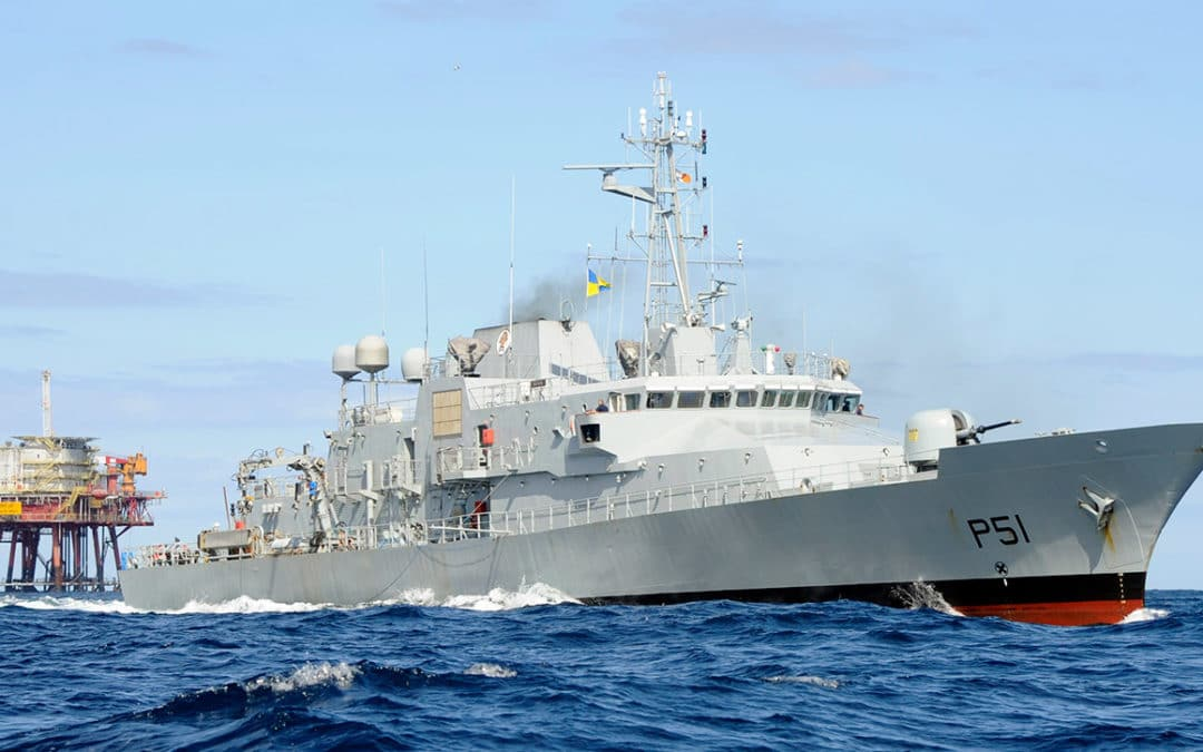 Irish Naval Services – LÉ Róisín