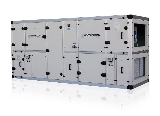 Roccheggiani Air Handling Unit with Triple-Stage Heat Recovery and Heat Pump