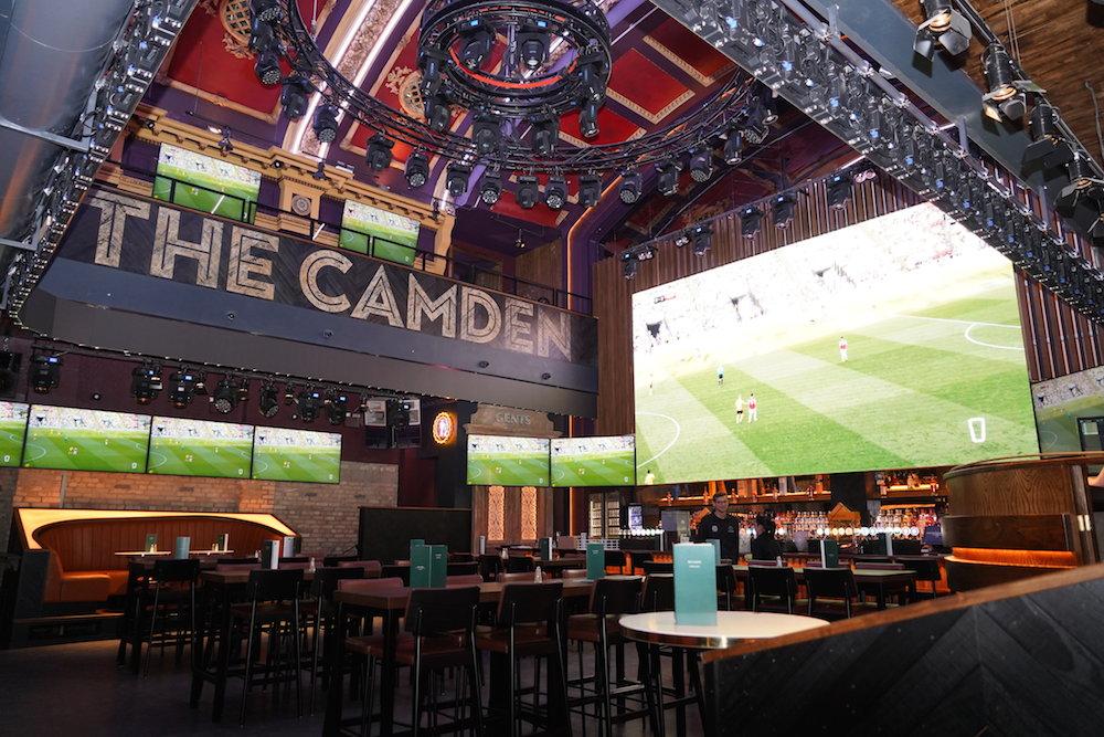 TV Screens at The Camden