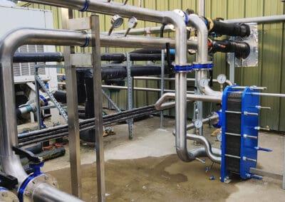 Pipework for Engie Chiller at Weener Plastics, Limerick