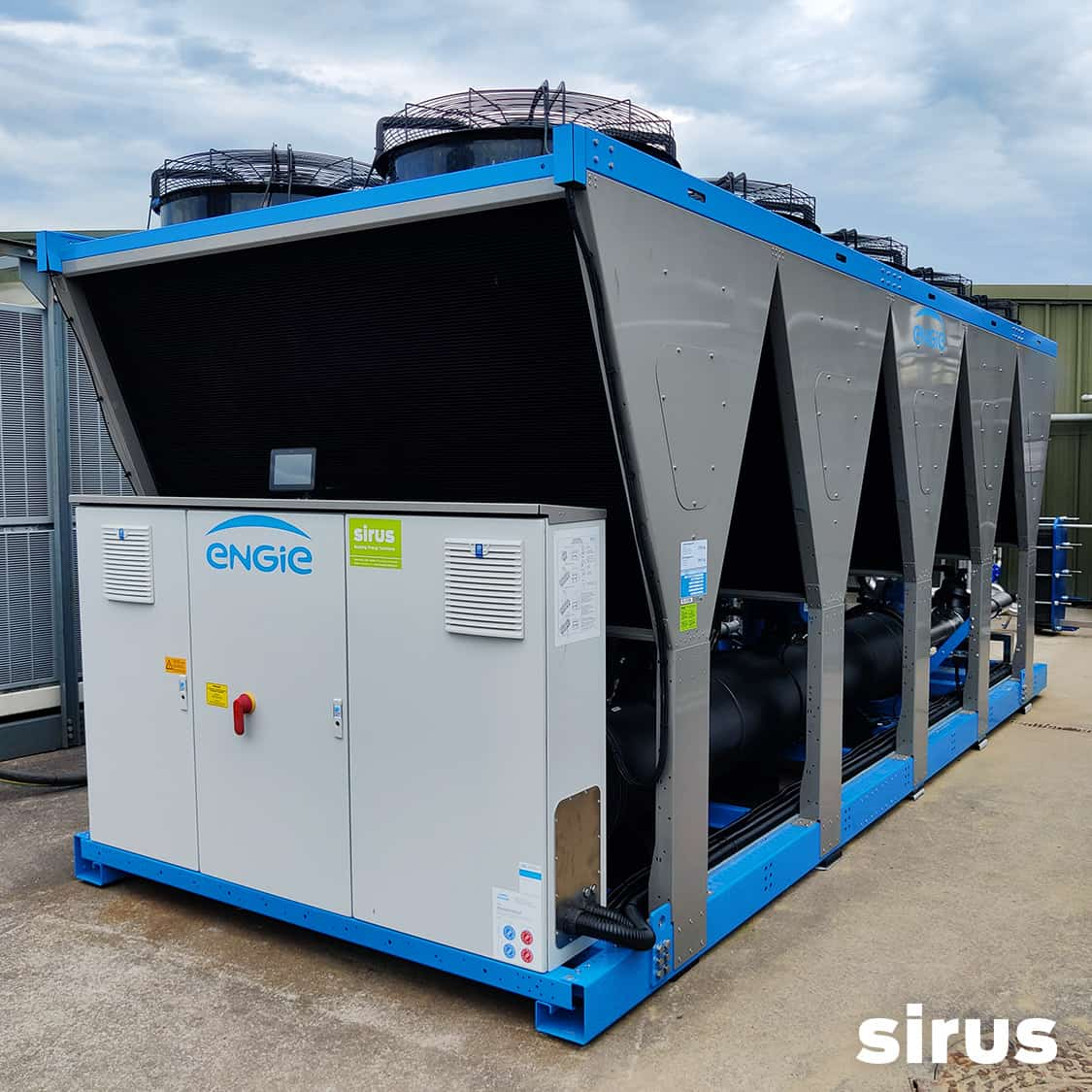 Turbocor Chiller at Weener Plastics commissioned by Sirus